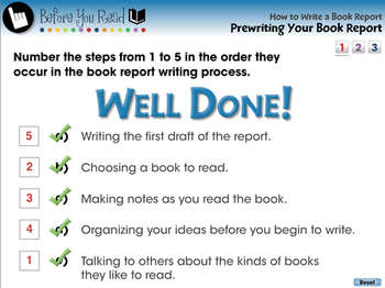 How to Write a Book Report: Prewriting Your Book Report - MAC Gr. 5-8