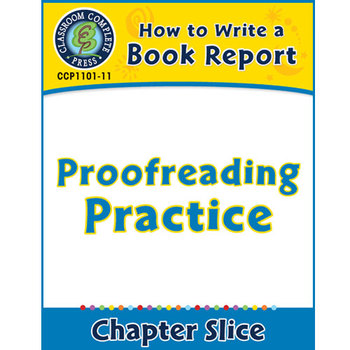 How to Write a Book Report: Proofreading Practice