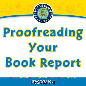 How to Write a Book Report: Proofreading Your Book Report