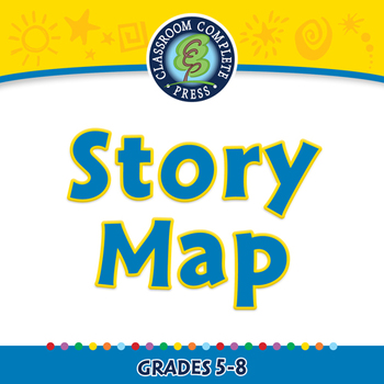 How to Write a Book Report: Story Map - NOTEBOOK Gr. 5-8