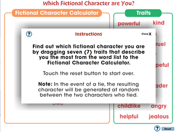 How to Write a Book Report: Which Fictional Character are You Game? - MAC