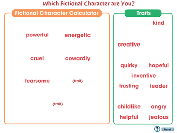 How to Write a Book Report: Which Fictional Character are You Game? - NOTEBOOK
