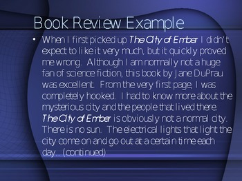 how to write book review example How long must it be we try to answer all the questions you might have  regarding the book review also, you can find some book review example and  hopefully.