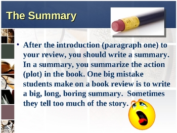 How to Write a Book Review Powerpoint