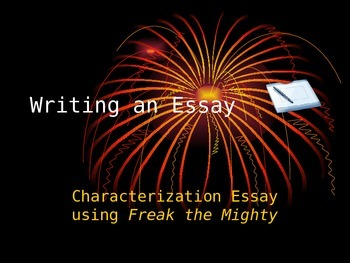 How to Write a Characterization Essay (Full)