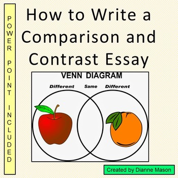 How to Write a Comparison and Contrast Essay
