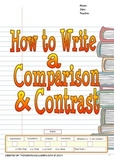 How to Write a Comparison and Contrast (Writer's Process)