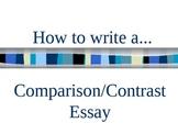 How to Write a Comparison/Contrast Essay