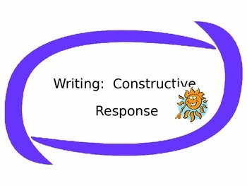 How to Write a Constructive Response