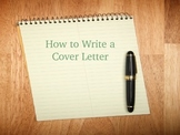 How to Write a Cover Letter-PowerPoint