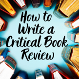 How to Write a Critical Book/Novel Review - Made with Goog