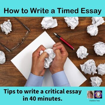 How to Write a Critical Essay in 40 Minutes