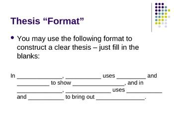 How to Write a Critical Lens Essay