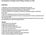 How to Write a Critique of a Play: 62 Questions for Students