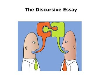 How to Write a Discursive Essay PPT for high school students