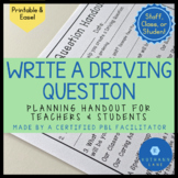 Write a Driving Question