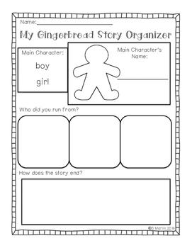 How to Write a Gingerbread Story: A Primary Writing Mini-Unit