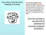 An ESL-Friendly Guide for Writing a Conclusion Paragraph