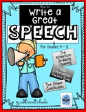 Distance Learning How to Write a Great Speech