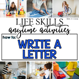 How to Write a Letter Life Skill Anytime Activity | Life Skills Activities