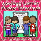 How to Write a Letter of Apology: Student Instructions