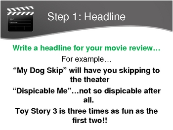 how to write a movie review co how