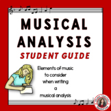 Music Appreciation: Music Listening: Music Analysis Student Guide