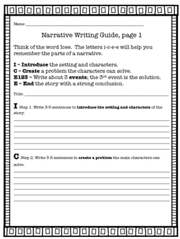 How to Write a Narrative Common Core / TNReady Aligned