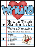 How to Write a Narrative in PDF & Google Docs - Common Core Aligned