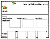 How to Write a Narrative using Spookley