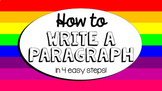 How to Write a Paragraph: A step by step guide for A+ writing!