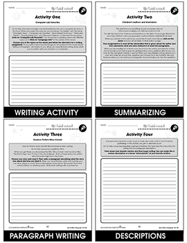 How to Write a Paragraph Gr. 5-8 - BONUS WORKSHEETS