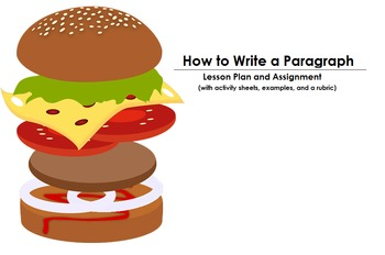 How to Write a Paragraph (Student Project and Lesson Plan)