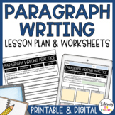 How to Write a Paragraph Lesson | Worksheets | Printable &