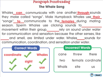 How to Write a Paragraph: Paragraph Proofreading - PC Gr. 5-8