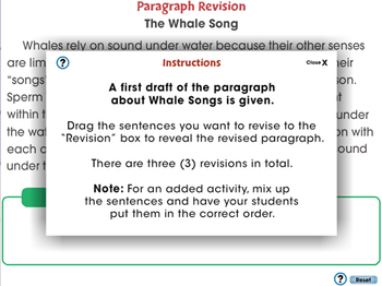 How to Write a Paragraph: Paragraph Revision - PC Gr 5-8