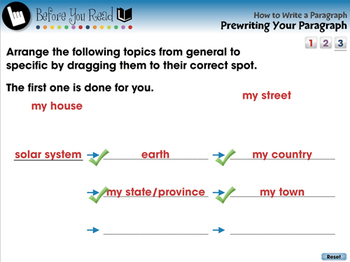 How to Write a Paragraph: Prewriting Your Paragraph - NOTEBOOK Gr. 5-8