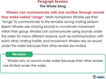 How to Write a Paragraph: Revising Your Paragraph - MAC Gr. 5-8