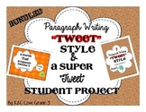 How to Write a Paragraph & Student of the Week {Tweet Inspired & Bundled}