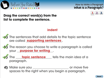 How to Write a Paragraph: What Is a Paragraph - PC Gr. 5-8