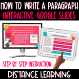 How to Write a Paragraph with Interactive Google Slides