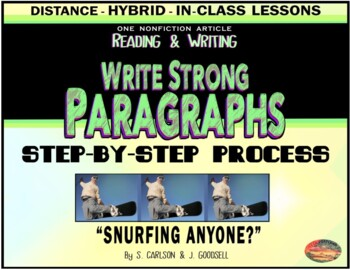 Paragraphs & How to Write Them--Includes PowerPoint