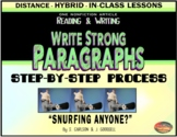 """PARAGRAPHS: How to Write Them - STEP-BY-STEP - """"SNURFING"""""""