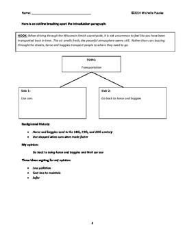 How to Write a Persuasive Essay Packet