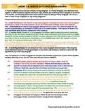 How to Write a Plump Paragraph