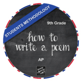 How to Write a Poem - Students Methodology (AP)