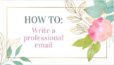 How to: Write a Proper and Professional Email