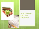 How to Write a Reading Response