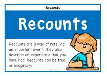 How to Write a Recount