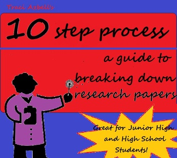 How to Write a Research Paper in 10 Steps - w/ Differentiated Handouts & Visuals